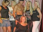 Striptér Alex, striptýz pro ženy na oslavě
